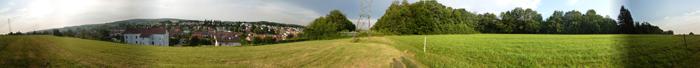 Panorama 360° des hauteurs de Fesches-le-Châtel